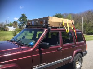 First off Installing the Smittybilt Roof Top Tent on my 99 TJ & First off Installing the Smittybilt Roof Top Tent on my 99 TJ ...