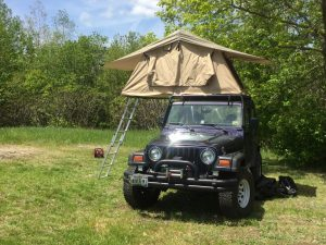 One thing I found that I didnu0027t really care for where the holes that come drilled in the frame that you place your window awning supports in. : jeep rooftop tent - memphite.com